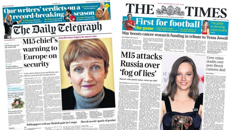 News Daily: MI5 warns over IS and Russia, and kidnapped Brits 'grateful' for release