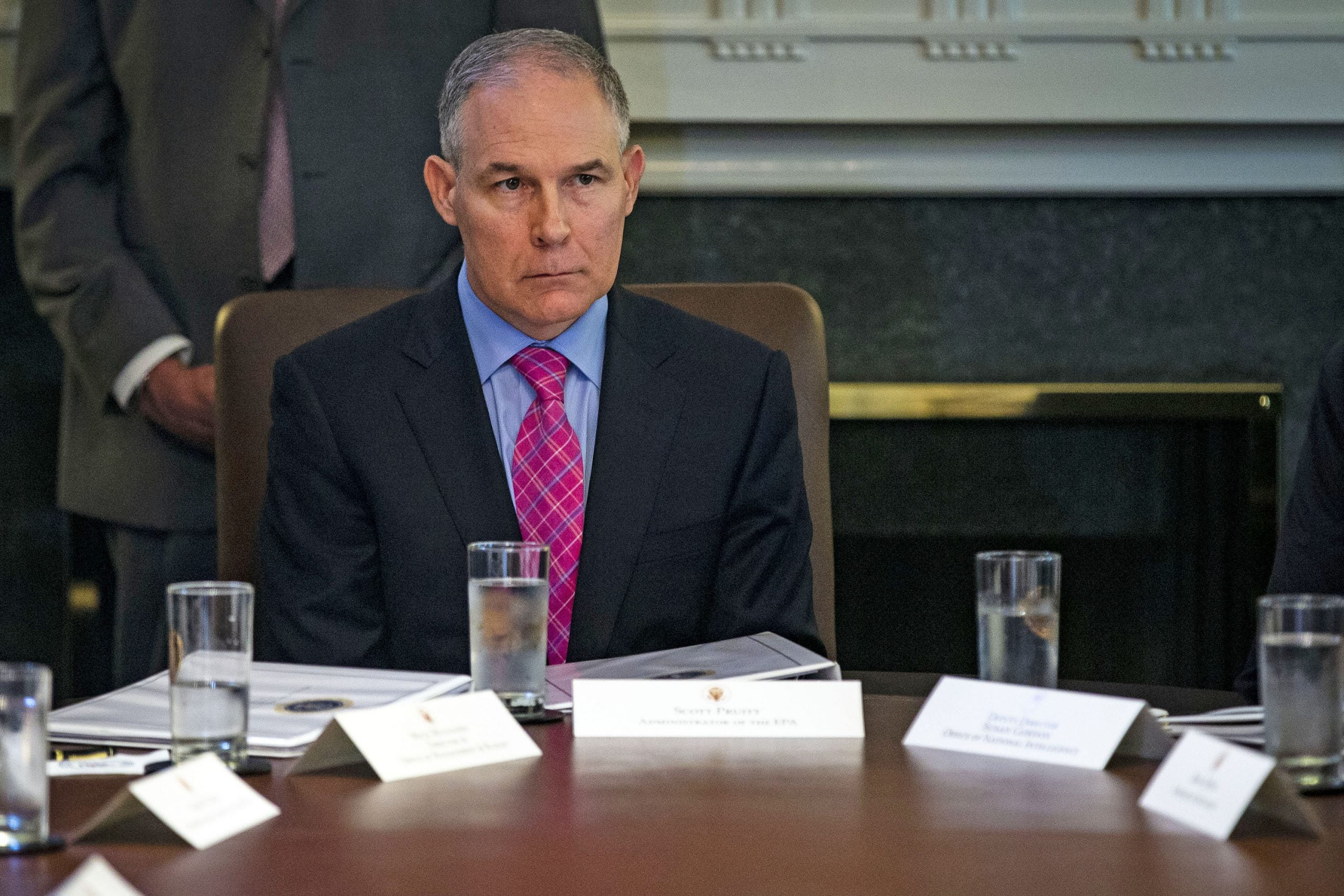 Pruitt: I don't recall asking security detail to use sirens in traffic