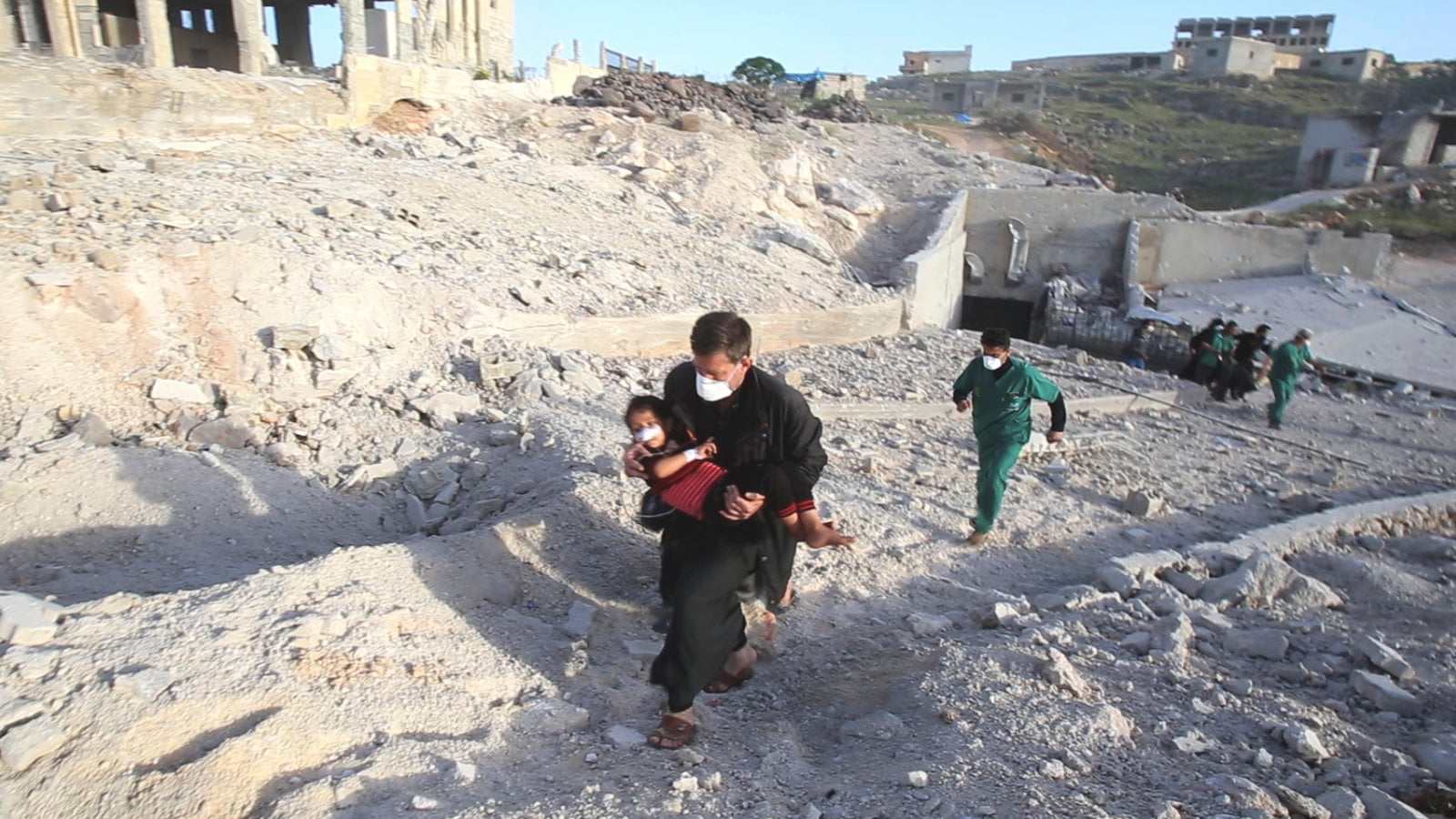 Russian aircraft bombed four Idlib hospitals in less than 12 hours, according to the 'NYT'
