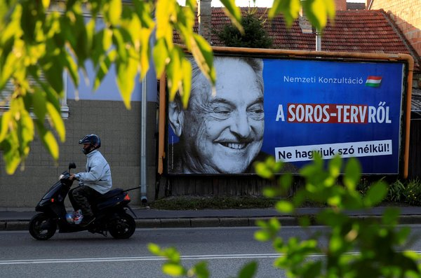 Soros Foundations Leaving Hungary Under Government Pressure