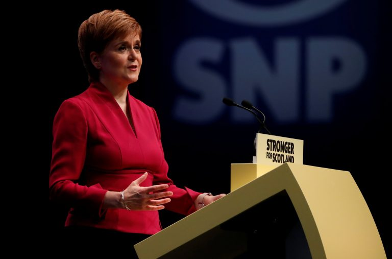 Sturgeon claims a new independence referendum for Scotland in 2020