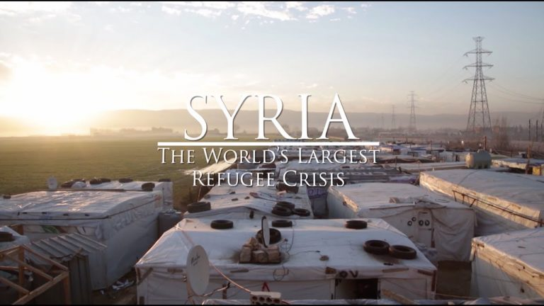 Syria, the largest refugee crisis in the world