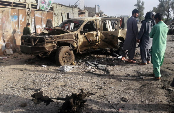 Taliban Overrun Afghan City, Kill 30 People and Leave