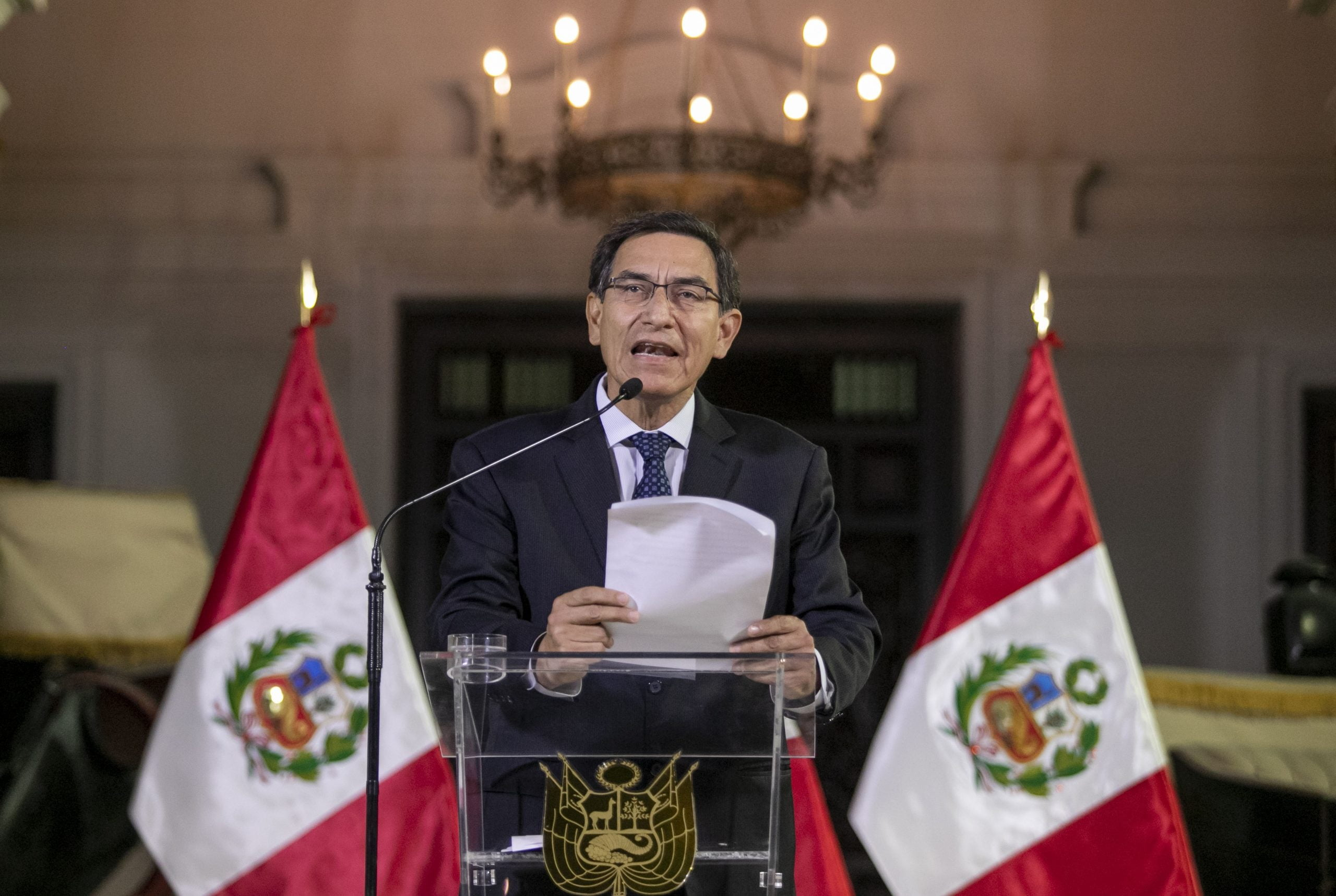 The approval rate of Vizcarra rises up to 75% after dissolving the Congress