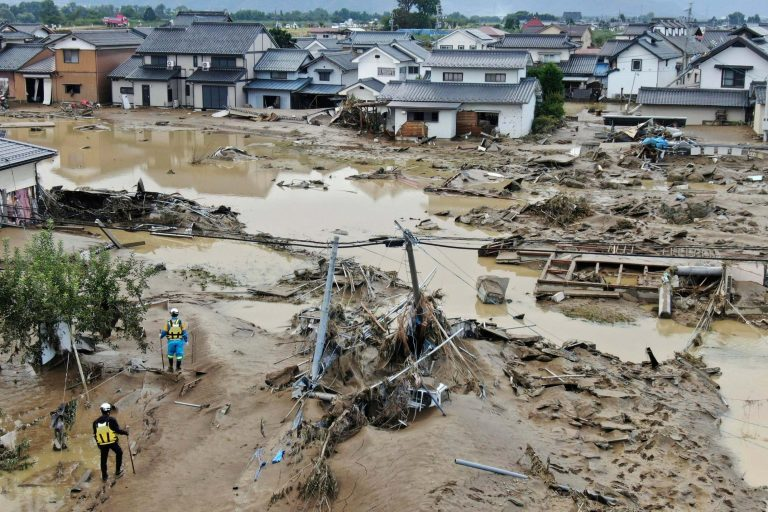 The death toll rises to 18 due to the passage of Typhoon 'Hagibis' through Japan