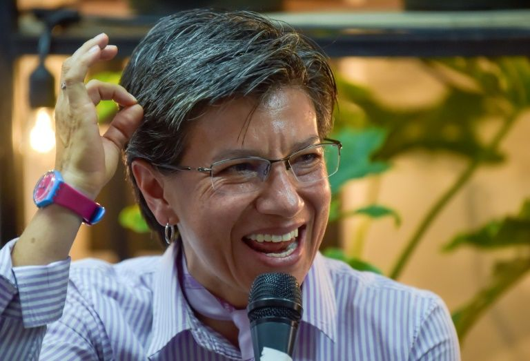 The environmental candidate Claudia López becomes the first mayor of Bogotá