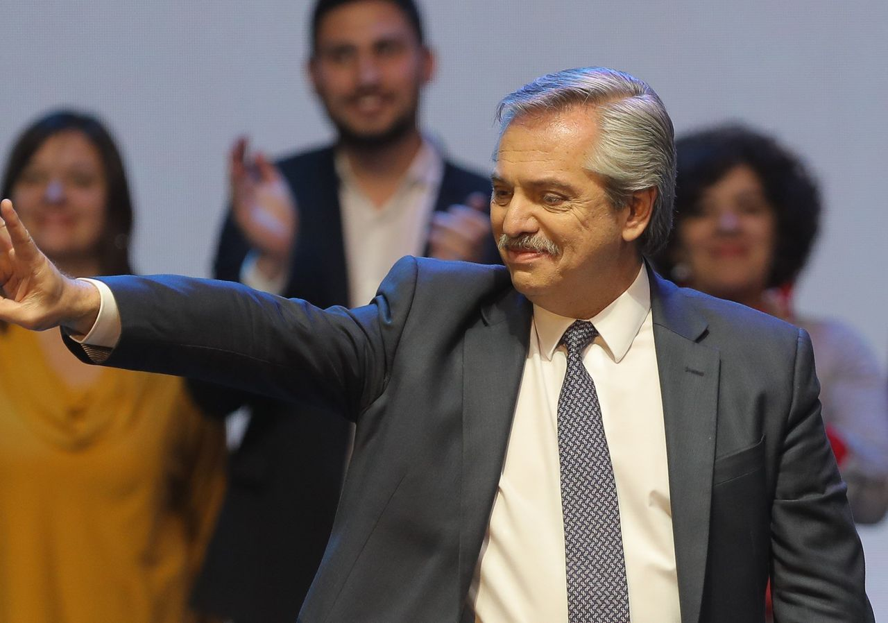 The 'Kirchner' Alberto Fern á ndez wins the presidential elections of Argentina in the first round