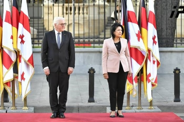 The president of Germany travels to Georgia in an attempt to strengthen bilateral relations
