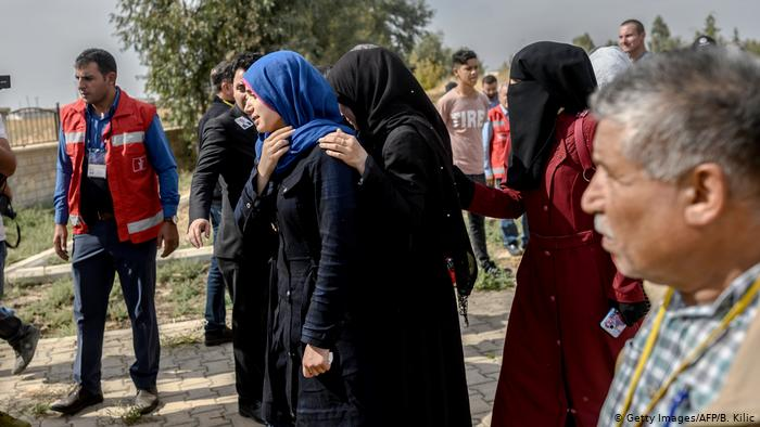 The UN raises the displaced people to 100,000 because of Turkey's offensive in Syria