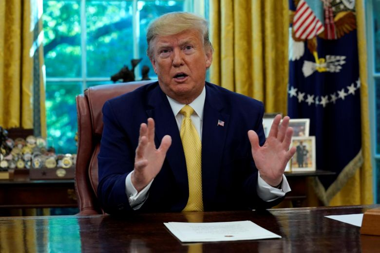 Trump vetoes a measure to end the national emergency declaration on the border with Mexico