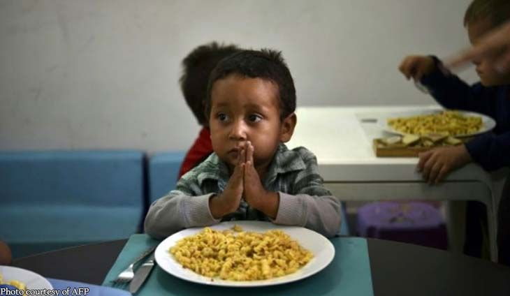 UNICEF gives the alarm: One in three children in the world is malnourished or obese