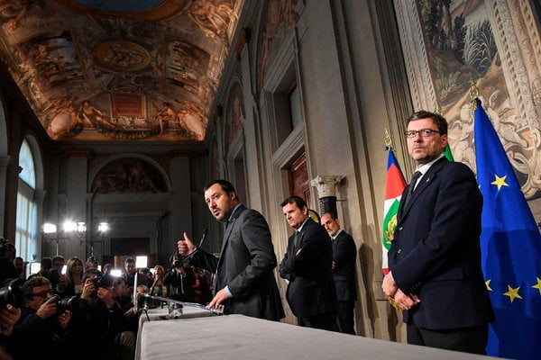 What Will Italy's Next Government Do? A Leak Jolts Stocks
