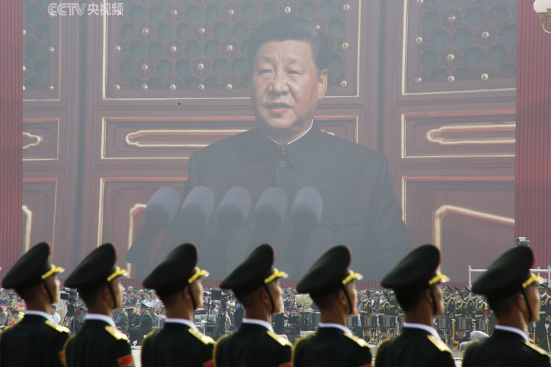 Xi says China will continue on the path of peaceful development