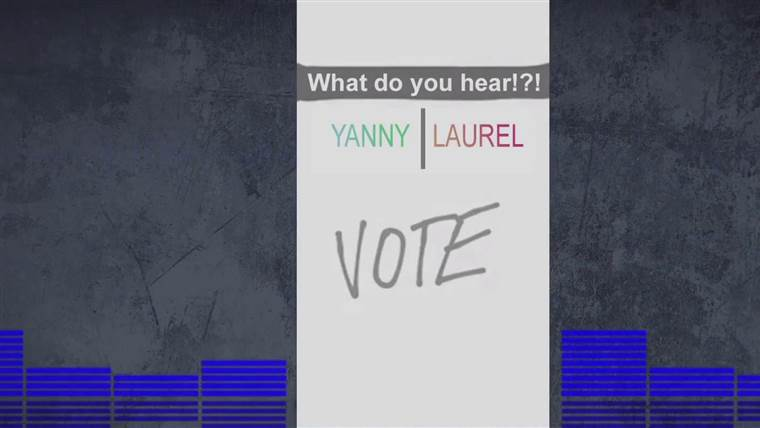 Yanny or Laurel? Here's why everyone is hearing something different