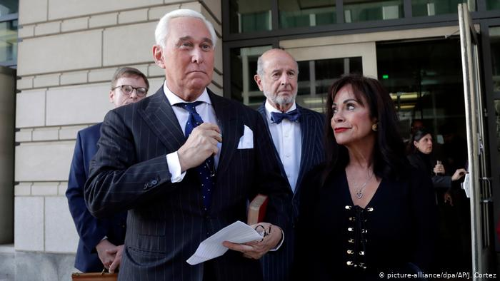 A jury declares Roger Stone, Trump's close ally, guilty of obstruction of justice and perjury