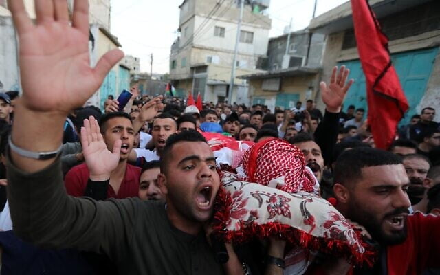 A Palestinian dies from gunfire by Israeli forces during a protest in Hebron