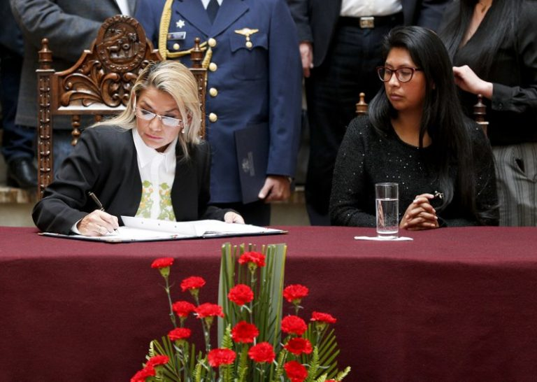 Áñez promulgates the law for new general elections in Bolivia