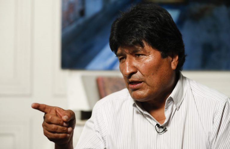 Áñez receives the United Nations envoy to mediate the conflict in Bolivia