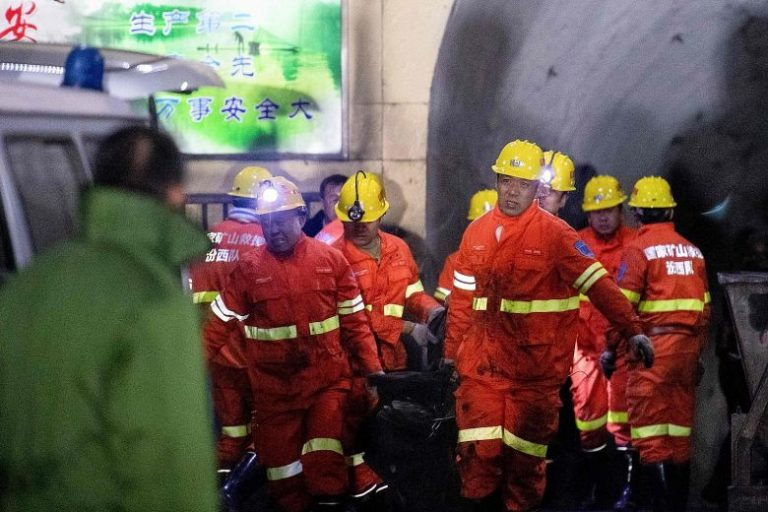 At least 15 killed by a gas explosion in a coal mine in northern China