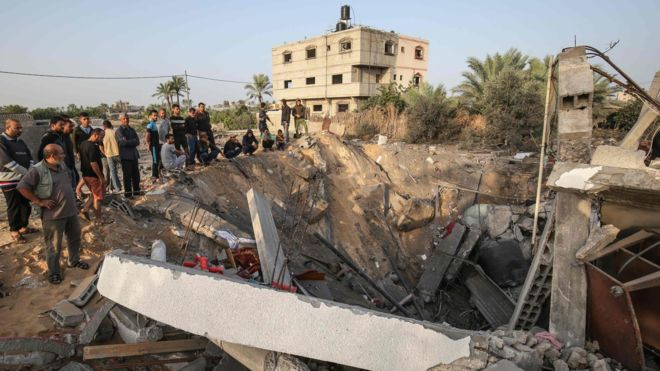 At least one Palestinian killed and three others wounded in Israel's air strike against Gaza