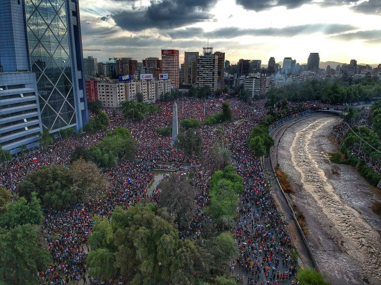 Chilean authorities estimate that 3.7 million people participated in one of the protests