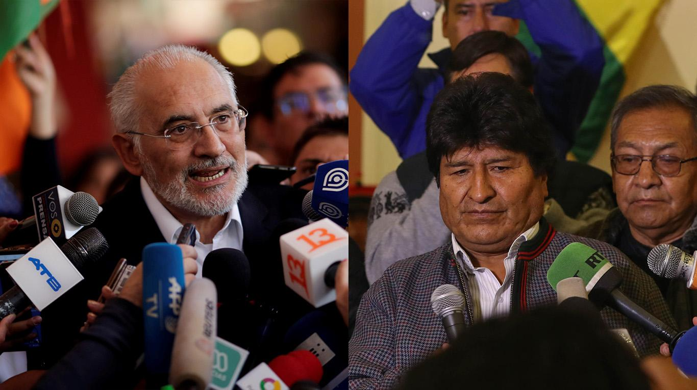 Evo Morales announces the call for new elections and the renewal of the TSE