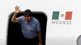 "Evo Morales arrives in Mexico: ""As long as I have life we ​​continue in politics"""