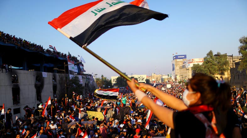 Five killed by security forces shooting at protesters in Baghdad