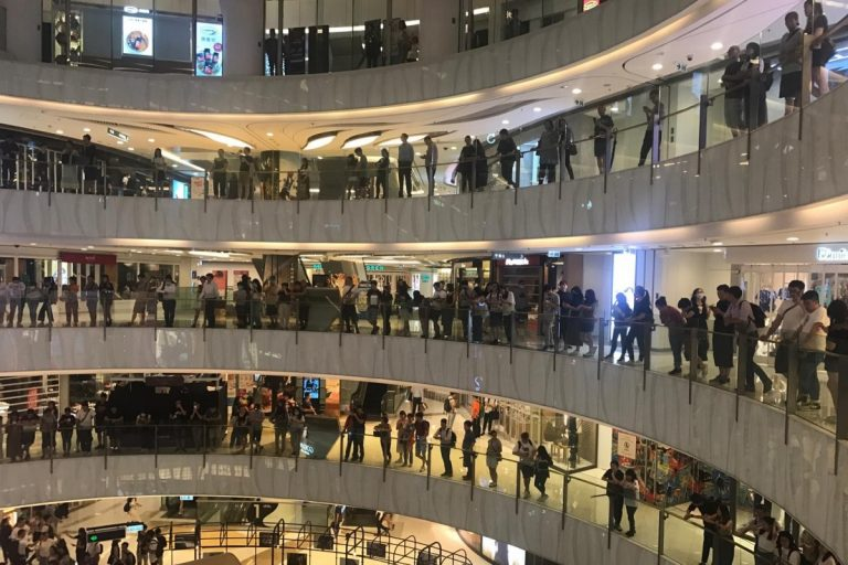 Hong Kong protesters suggest moving protests to shopping centers
