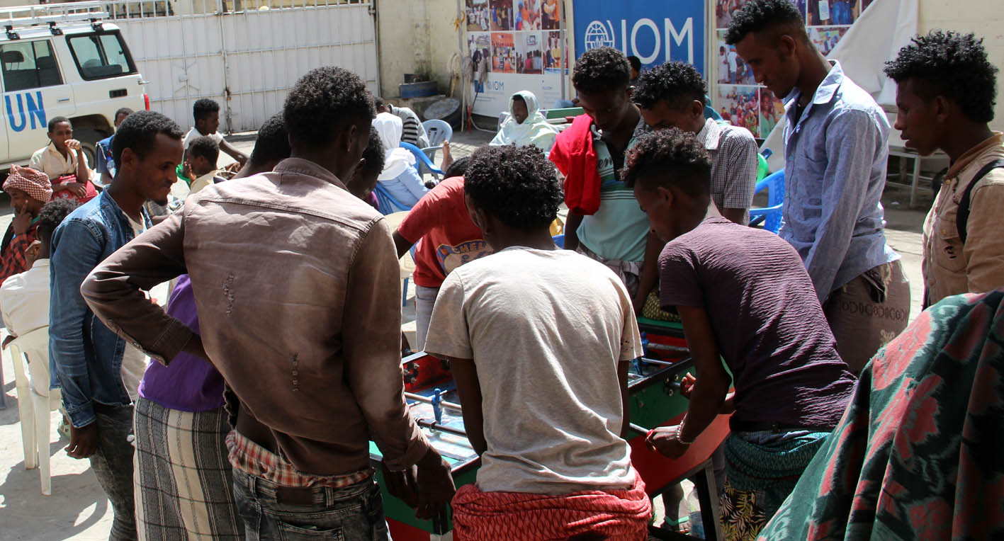 """IOM alerts more than 110,000 """"vulnerable"""" migrants on the route between the Horn of Africa and Yemen"""