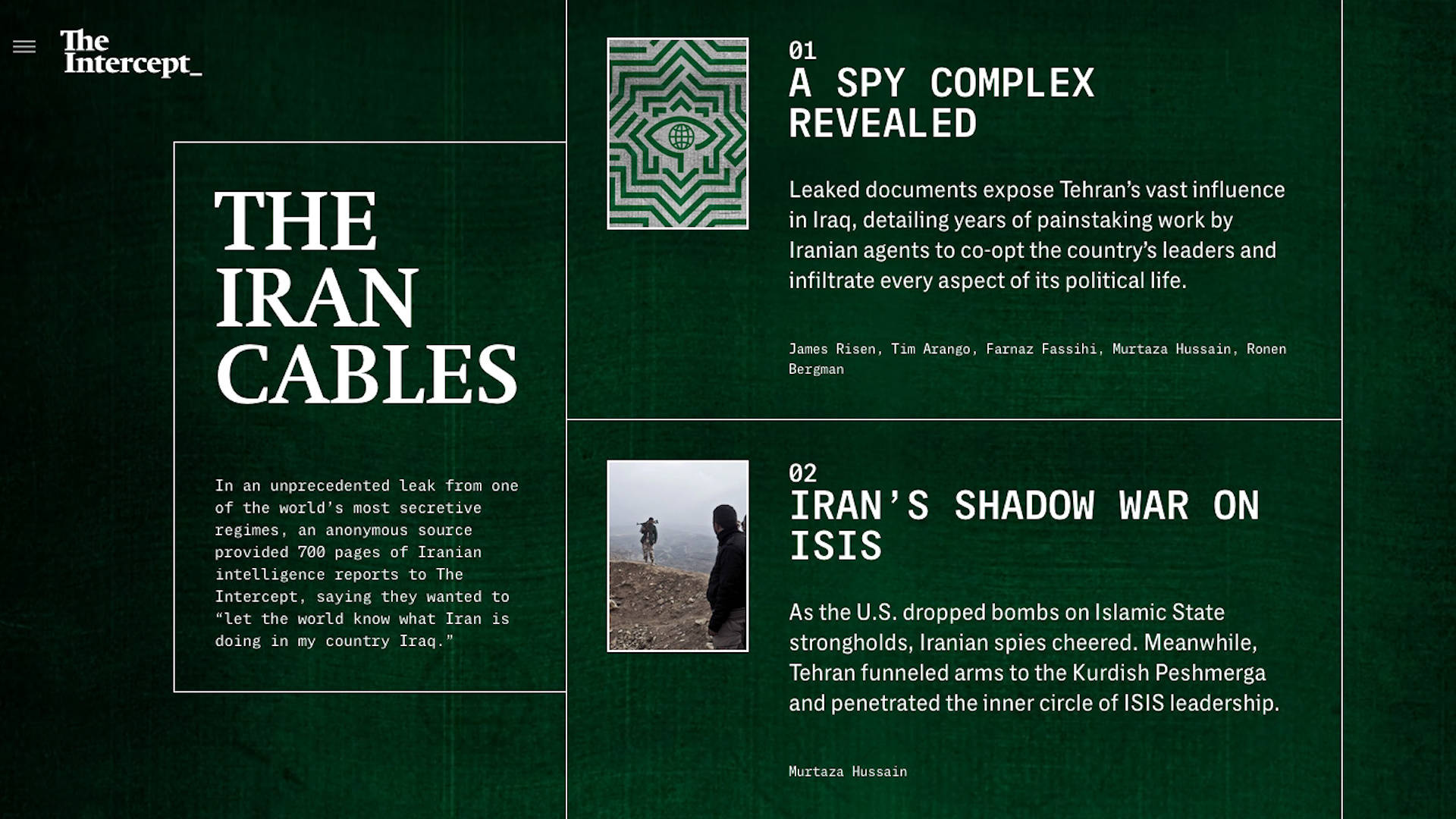 Iran wove an important network to try to influence Iraq's internal policy, according to leaked documents