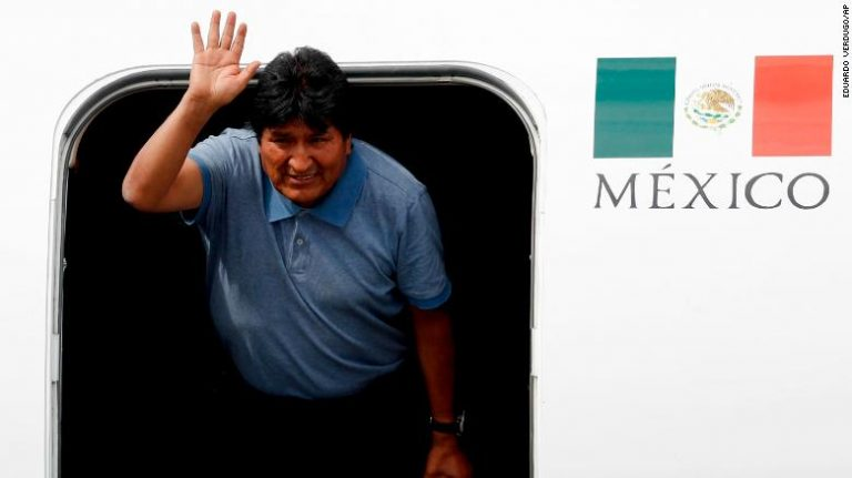 Morales says he is willing not to participate in the new presidential elections in Bolivia
