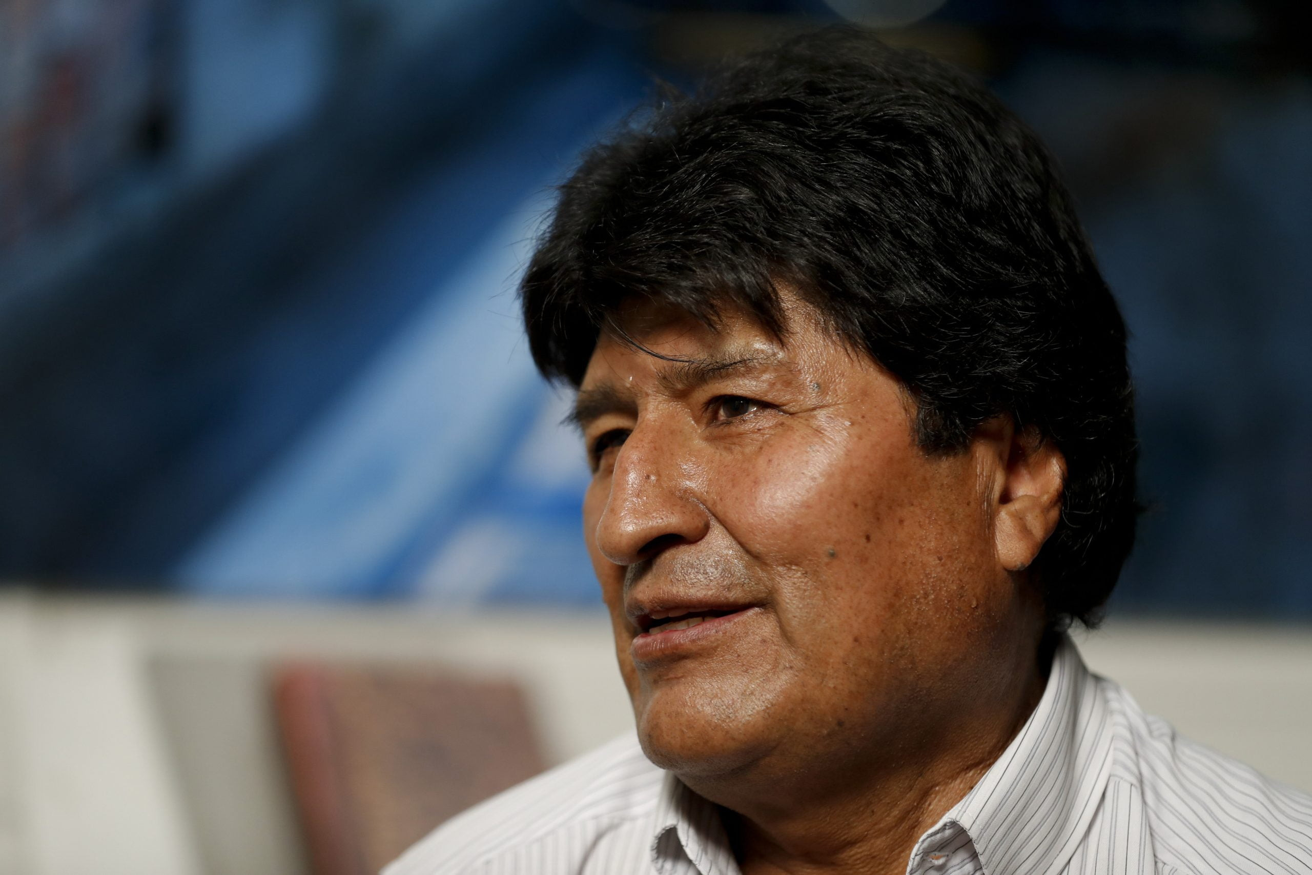 """Morales says to come back á to Bolivia """"if the people ask for it"""""""