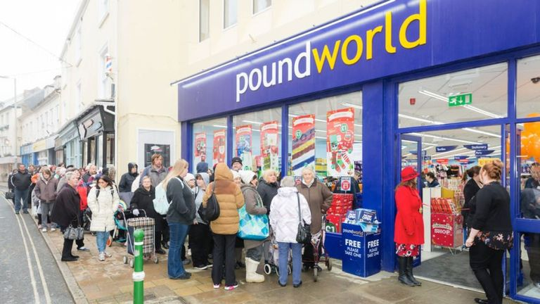 Poundworld future in doubt as owner plans sale