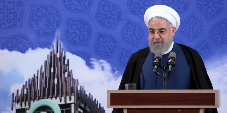 Rohani announces that Iran will inject gas into the centrifuges of the Fordow nuclear power plant
