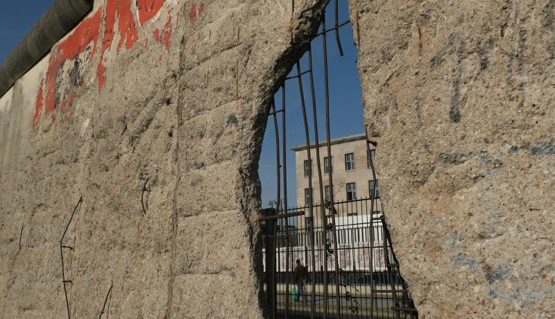 The Berlin Wall in figures 30 years after its fall