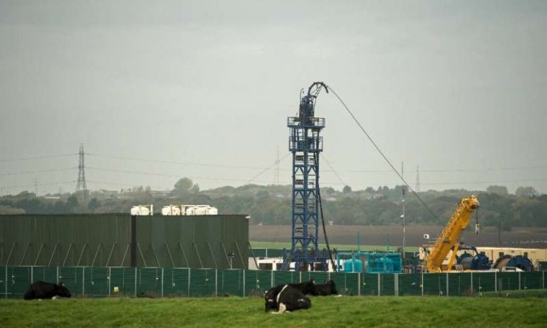 The British Government prohibited the 'fracking' in England based on a scientific report