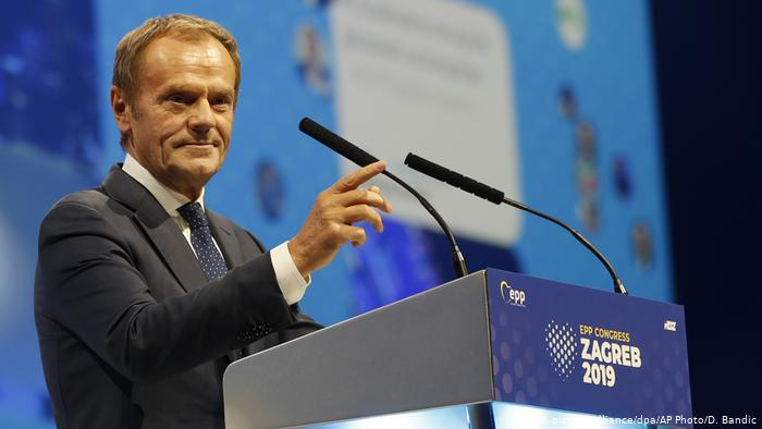 The European People's Party elects Donald Tusk as its new president