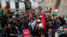 The Government of Bolivia denounces the taking of media and attacks on journalists