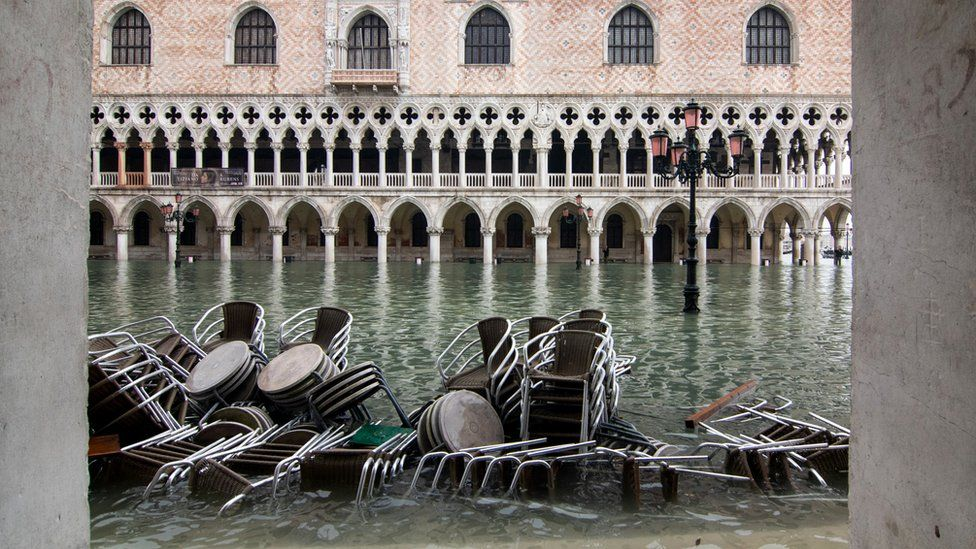 The Government of Italy will declare the state of emergency in Venice for the latest floods