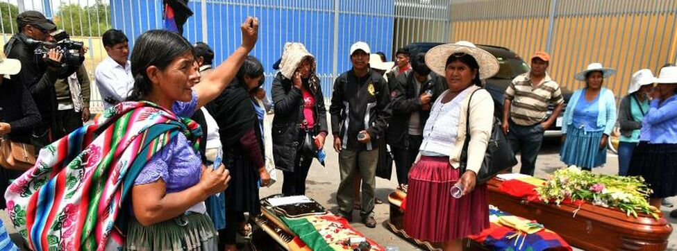 The IACHR denounces that there are at least 23 dead and 715 injured since the beginning of the crisis in Bolivia
