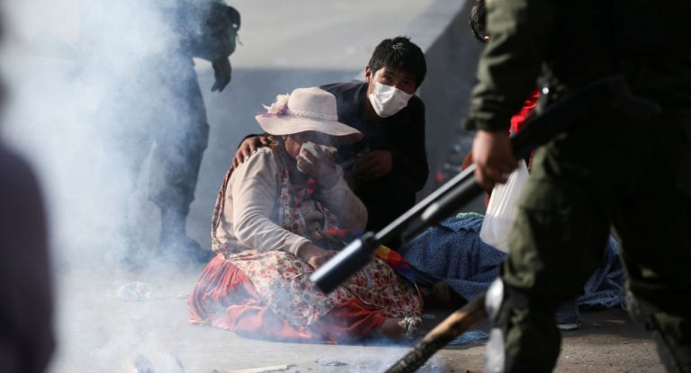 "The IACHR expresses its ""deep concern"" for those killed in the context of protests in Bolivia"