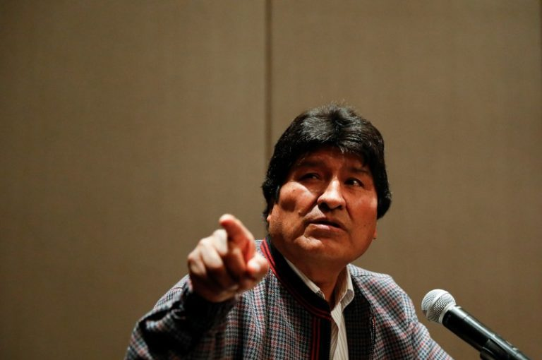 The interim Government of Bolivia formalizes its complaint against Evo Morales for sedition and terrorism