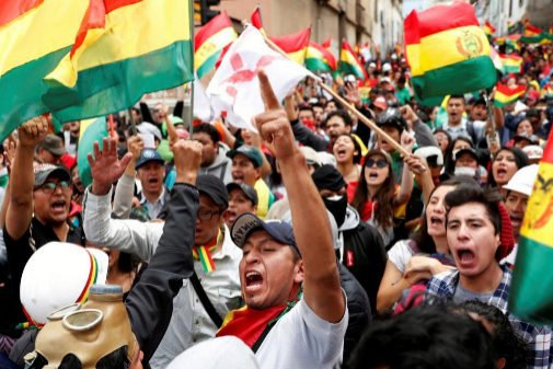 The OAS calls for the repetition of elections in Bolivia
