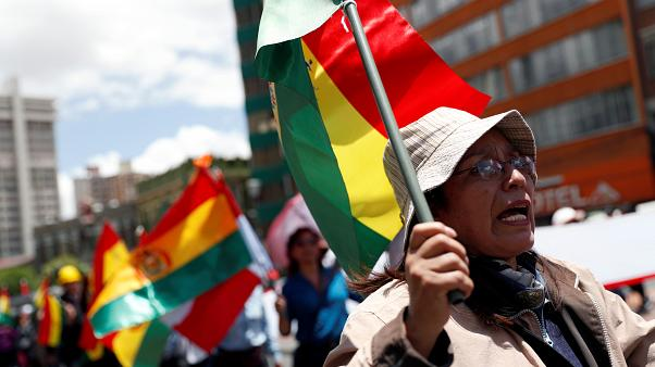 "The OAS urges to ""urgently call elections"" to overcome the crisis in Bolivia"