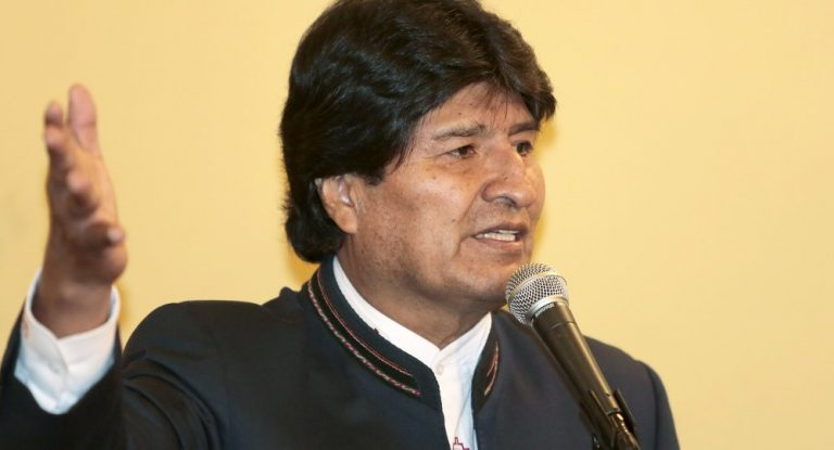 The president of Bolivia receives the EU ambassador to the country, the Spaniard León de la Torre
