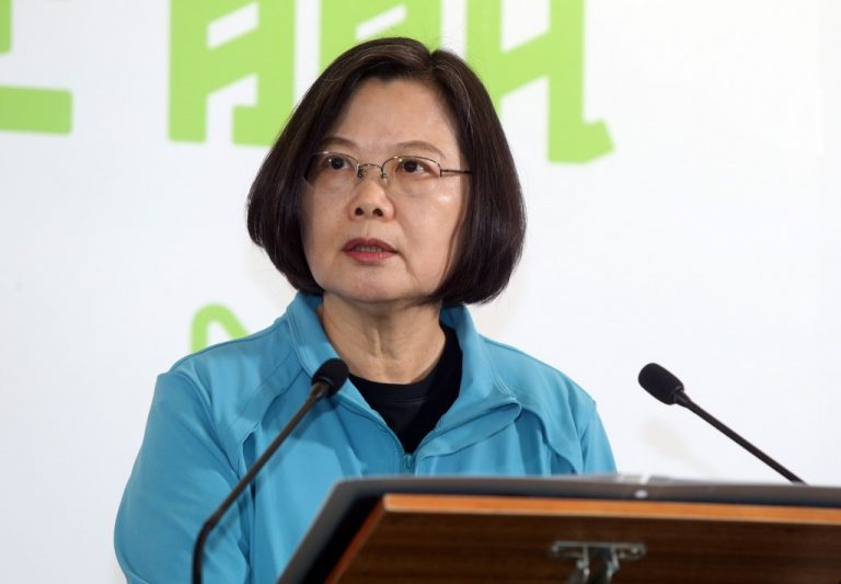"The president of Taiwan accuses China of interfering in her elections ""every day"""