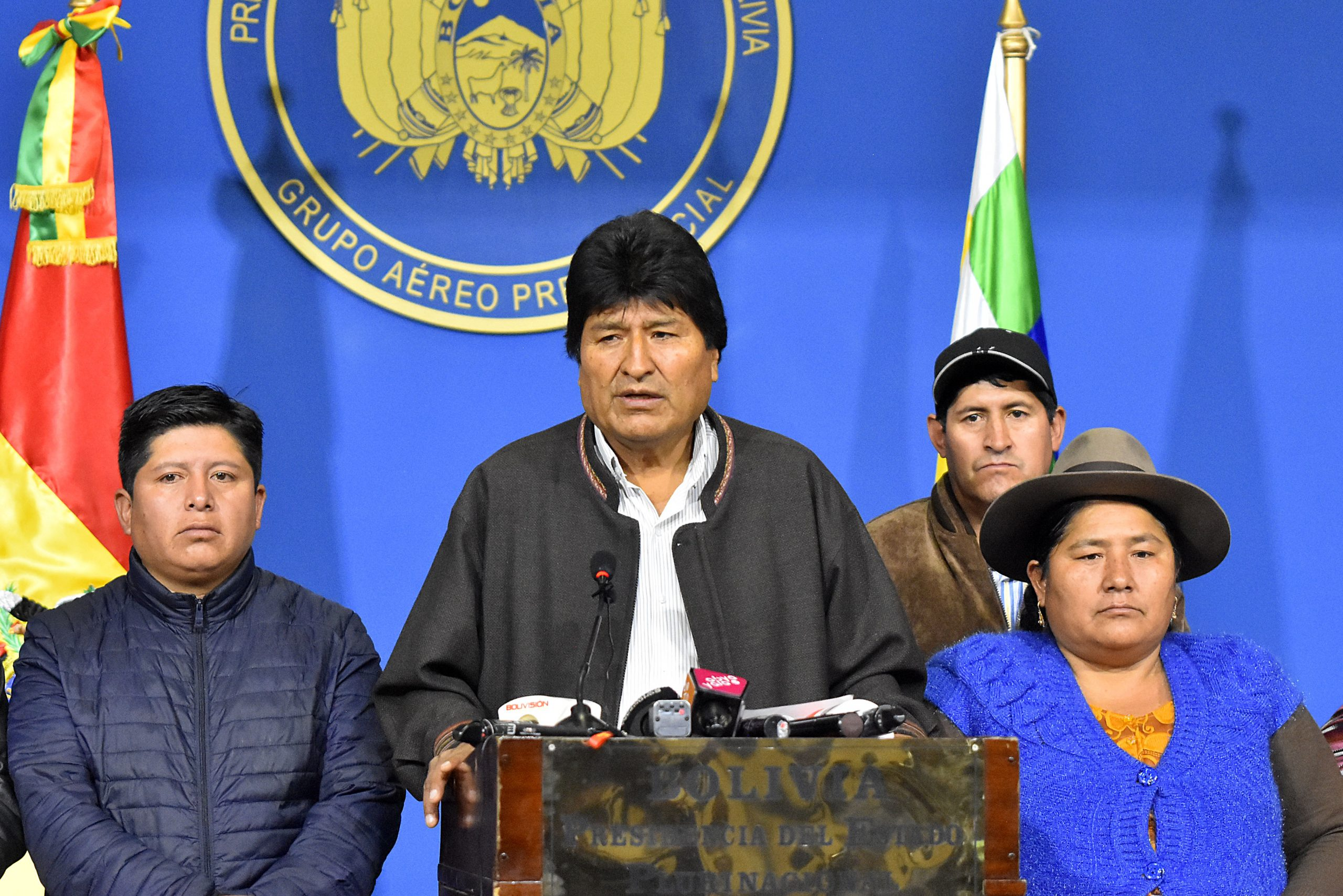 The president of the Chamber of Deputies of Bolivia resigns and denounces that his brother has been kidnapped