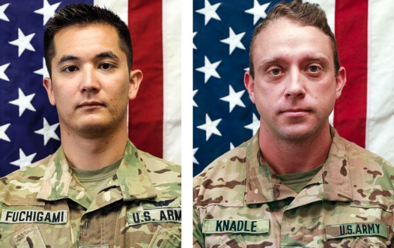 Two US military die in a helicopter crash in eastern Afghanistan