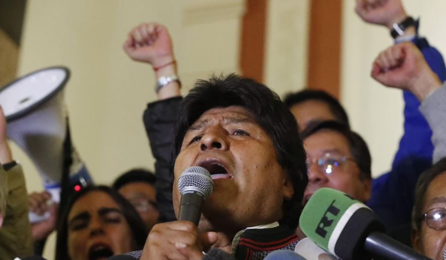 """Bolivia names former President Quiroga to denounce the alleged violation of Human Rights """"led by Morales"""""""